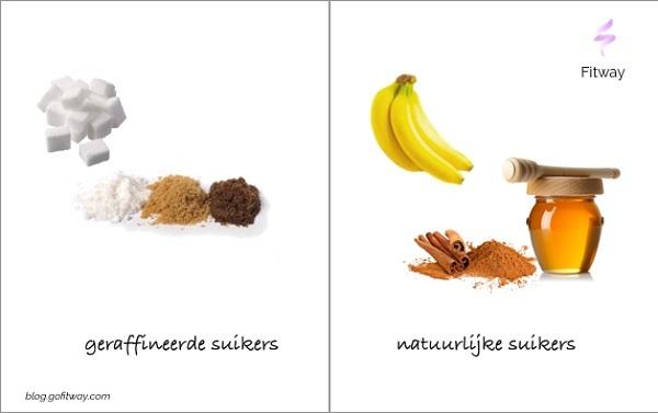 Geraffineerde suikers vs natuurlijke suikers